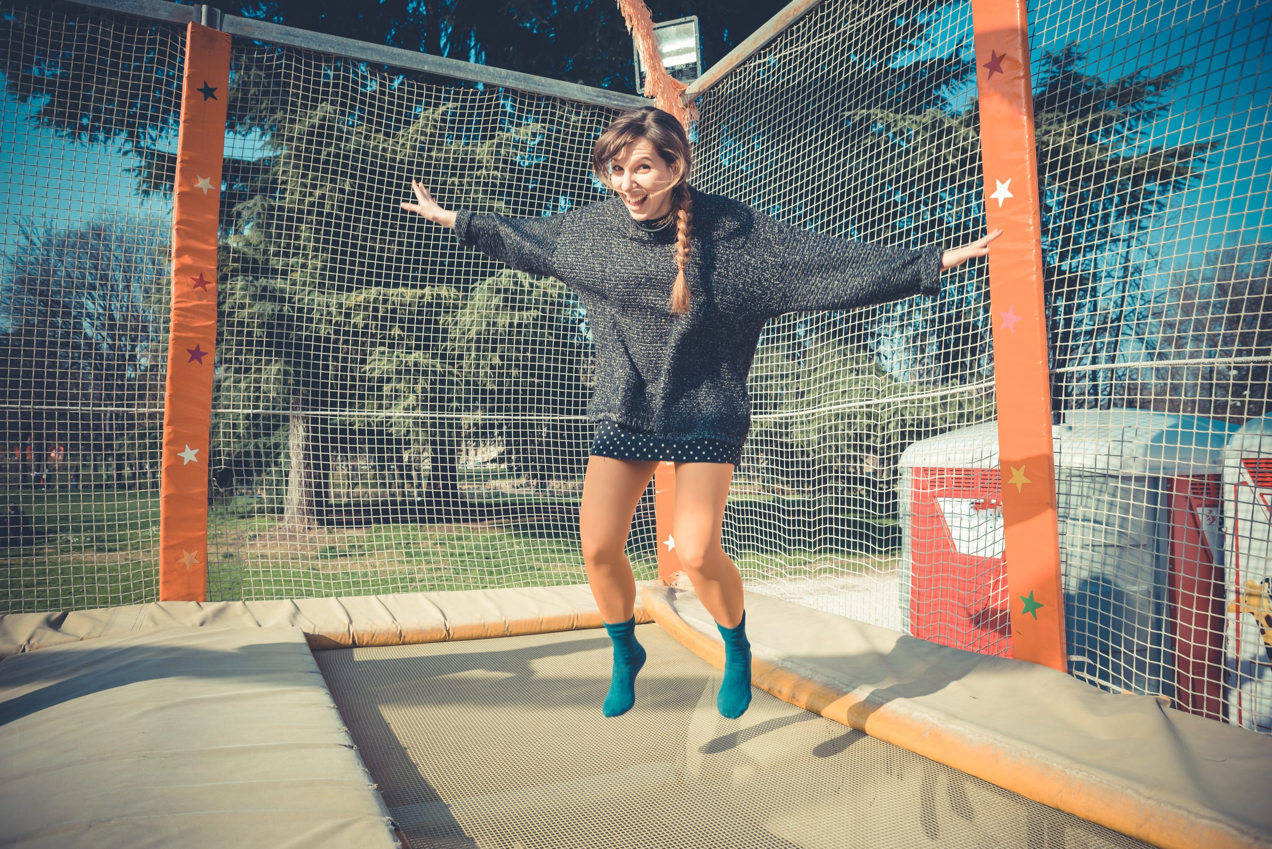 What are Trampoline Socks?